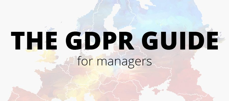 GDPR guide for managers