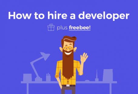 How to hire a developer plus freebee